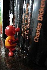 Looking for a book / Rubí Flórez / CC BY-NC-ND 2.0, via Flickr